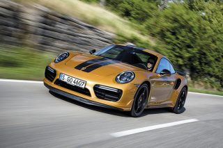 porsche 911 turbo s exclusive series main pic