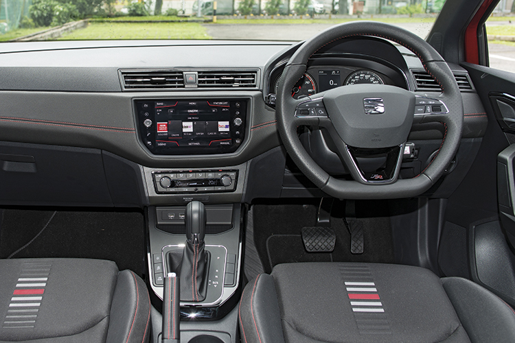 Seat Arona – Cockpit