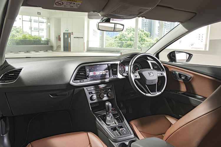 Seat Leon – Cockpit