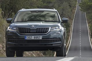 The Skoda Kodiaq is named after the Kodiak, a large brown bear found in Alaska.