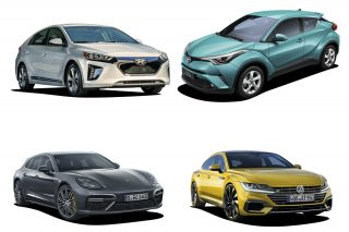 top 4 cars introduced in singapore in february 2018
