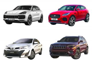 top 4 cars introduced in singapore in april 2018