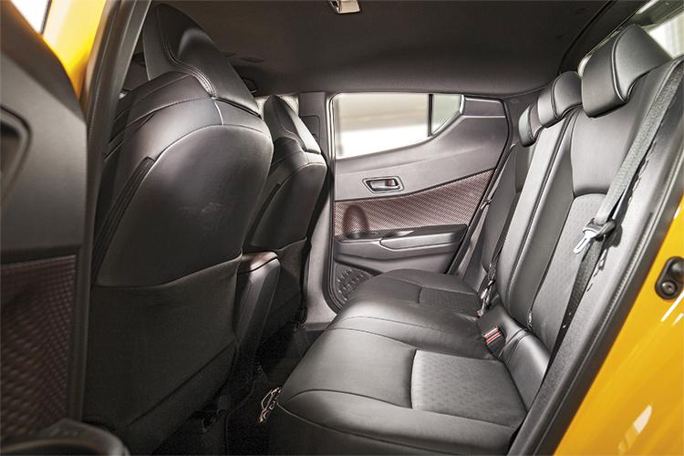 Toyota C-HR – Backseat