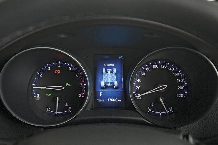 Toyota C-HR – Meters