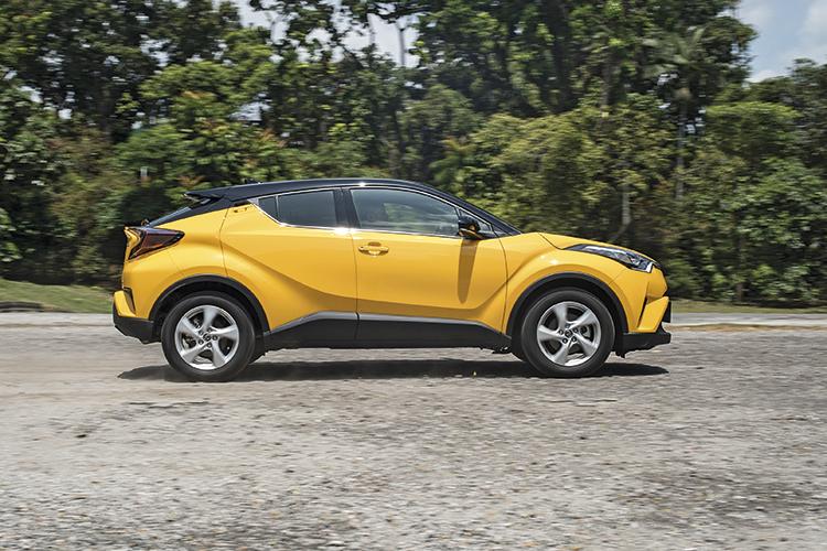 Toyota C-HR – Ride & Handling