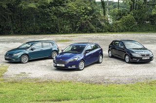 volkswagen golf ford focus and seat leon main