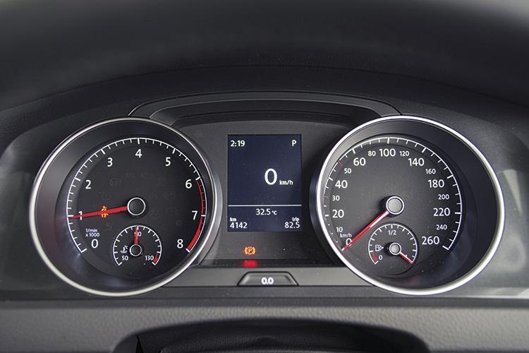 Volkswagen Golf – Meters