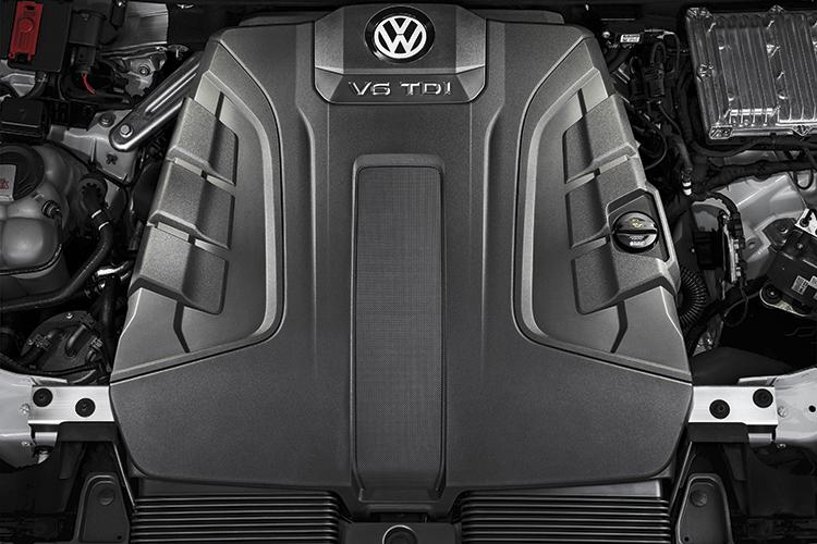 volkswagen touareg turbo-diesel v6