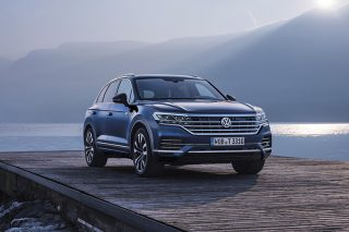 volkswagen touareg front static