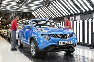 The compact crossover is the fourth Sunderland-built model to hit one million units and took eight years to reach the production milestone.