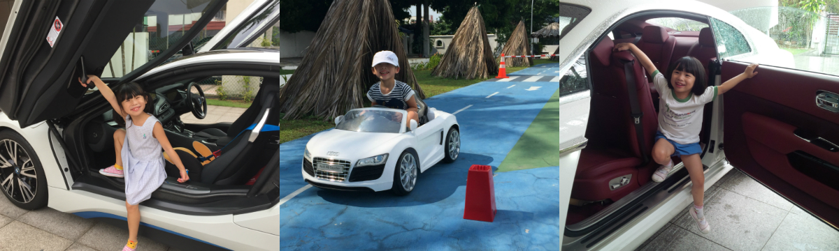 This columnist's seven-year-old daughter is an underage, co-driving car reviewer without a driving licence, but with plenty of experience already.