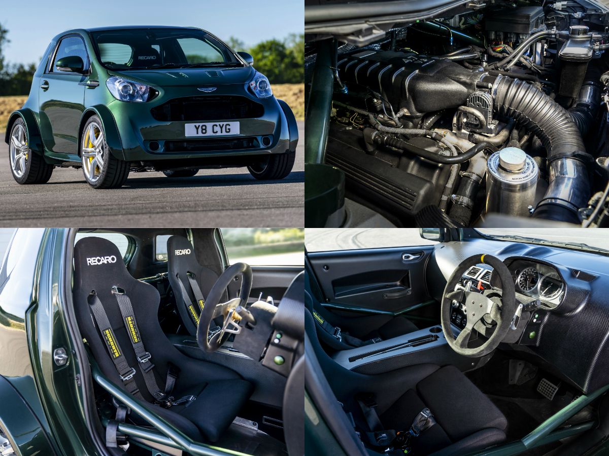 The outrageous one-off creation has a 4.7-litre naturally aspirated V8 under the bonnet sending 430hp and 490Nm to the rear wheels through a 7-speed Sportshift II gearbox, a power-to-weight ratio of 313hp per tonne, 0-100km/h acceleration in about 4.3 seconds and a top speed of 274km/h.