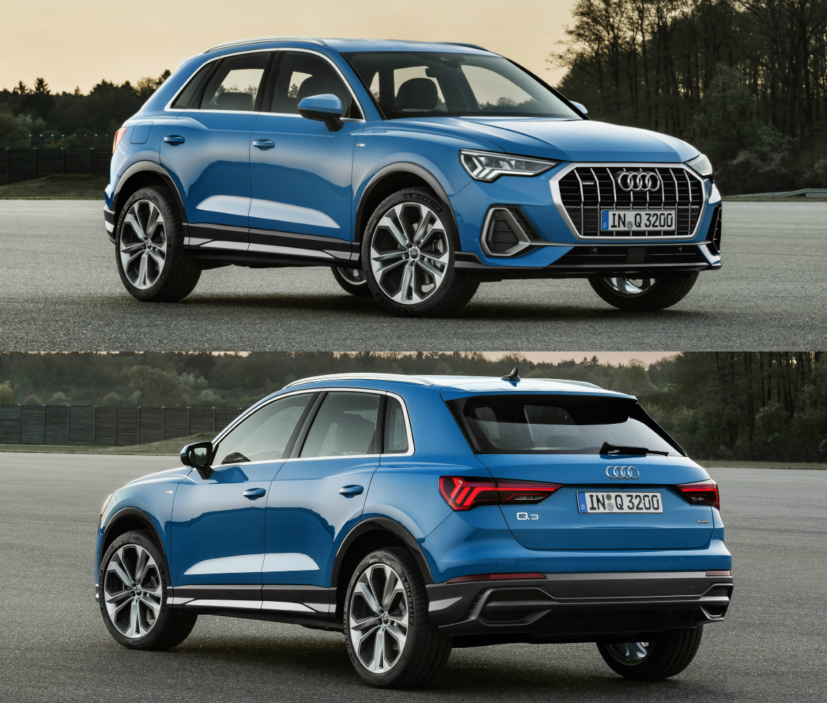 audi reveals second generation q3 suv torque. Black Bedroom Furniture Sets. Home Design Ideas