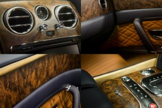 Cut from the highest quality wood, the new interior option has an ultra-thin lacquer which allows customers to feel the natural grain of the wood and a handcrafted finish which highlights the natural beauty of exquisite walnut.