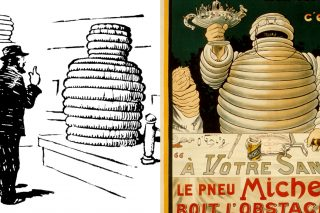 Born in 1898, Bibendum (the Michelin Man's real name) is celebrating his 120th birthday in 2018.
