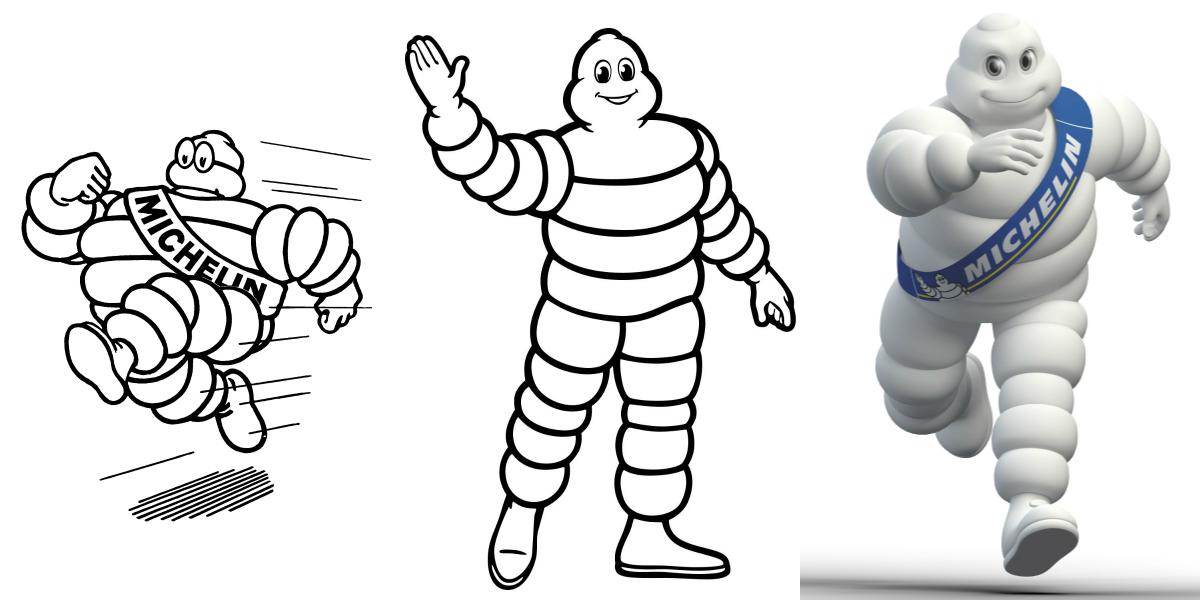 Born in 1898, Bibendum (the Michelin Man's real name) is celebrating his 120th birthday in 2018.