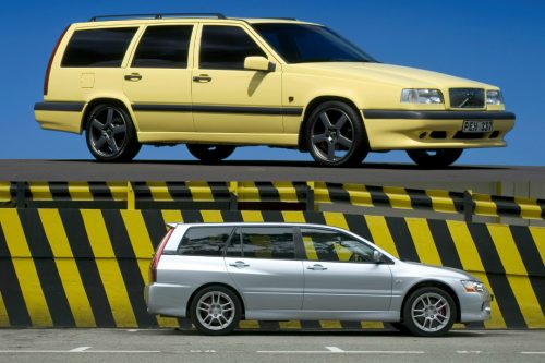 The Subaru Forester XT, Volvo 850 estate, Audi RS4 and RS6 Avants, Mitsubishi Lancer Evolution IX Wagon, BMW E60 M5 Touring, Porsche Panamera Sport Turismo and the Ferrari 456 Venice are the fast haulers this petrolhead loves.