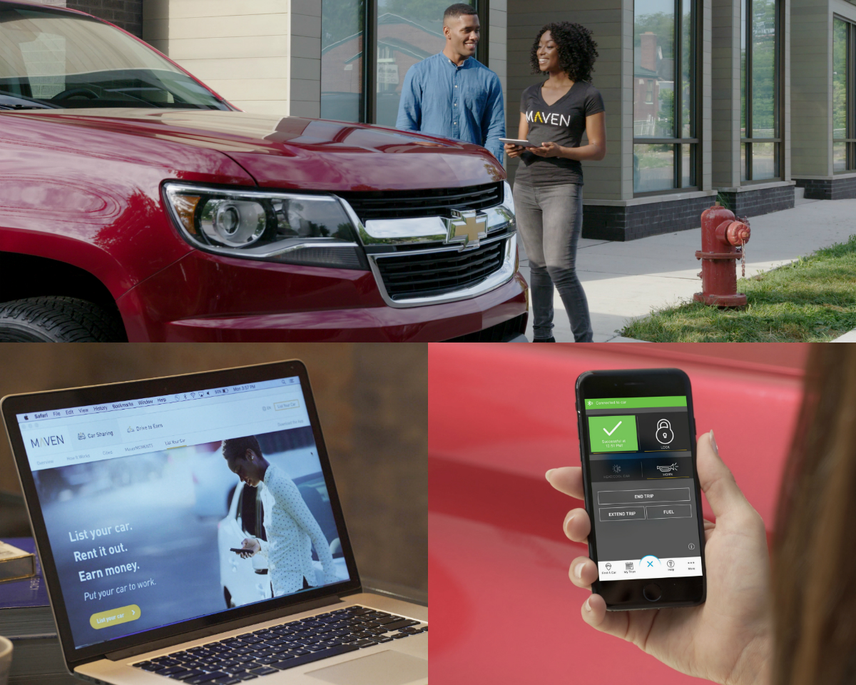 Maven has expanded its car-sharing platform to include a peer-to-peer offering that enables eligible owners to earn money by renting their personal Chevrolet, Buick, GMC or Cadillac vehicle to driving members, with the beta service available now in Chicago, Detroit and Ann Arbor, Michigan.