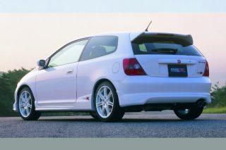 (Top to bottom) Honda's EK9, EP3 and FD2 Civic Type Rs
