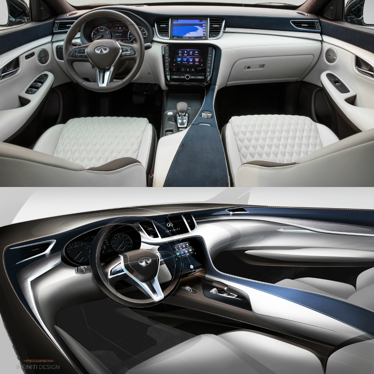 2005 Infiniti Qx Interior: Infiniti QX50 Autograph Interior Is Inspired By A Luxury