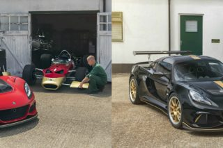 Unveiled at the Goodwood Festival of Speed 2018, the Exige Type 49 and 79 Celebration cars have been handcrafted by Lotus Exclusive in a salute to Lotus' 70th birthday and the victory anniversaries of two historic racecars that helped define Lotus as one of the all-time great automotive marques.