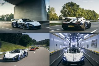 The first customer McLaren Senna buil was officially presented to its owner, David Kyte, who immediately set out to enjoy his new purchase on a 1400km road trip, accompanied by five other McLaren supercars.
