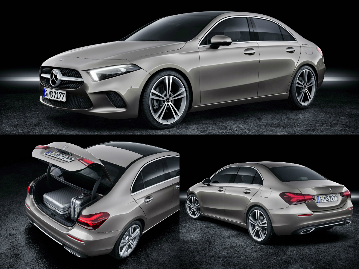 The A-Class Sedan further expands the range of compact cars from Mercedes-Benz and is a logical addition to the premium tristar-saloon lineup of C-Class, E-Class and S-Class.