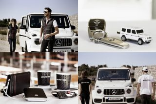 The new products in the AMG Collection from Mercedes-Benz and the new sunglasses in Maybach design are fashionable, practical and high-quality, offering the right outfit for an inspiring road trip.