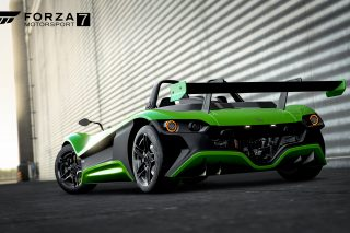 The ultra-lightweight Mexican supercar is exclusively available on Forza Motorsport 7 for the Xbox One console, allowing gamers to feel the thrill and extreme dynamism of the VUHL 05RR in a realistic yet virtual world.