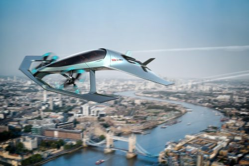 Aston Martin's luxury concept aircraft with vertical take-off and landing (VTOL) capabilities is produced in partnership with Cranfield University, Cranfield Aerospace Solutions and Rolls-Royce.