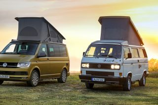 "Volkswagen Commercial Vehicles celebrates the 30th anniversary of its camping icon with the special ""California 30 Years"" model, an anniversary vehicle limited to a production run of 999 units."