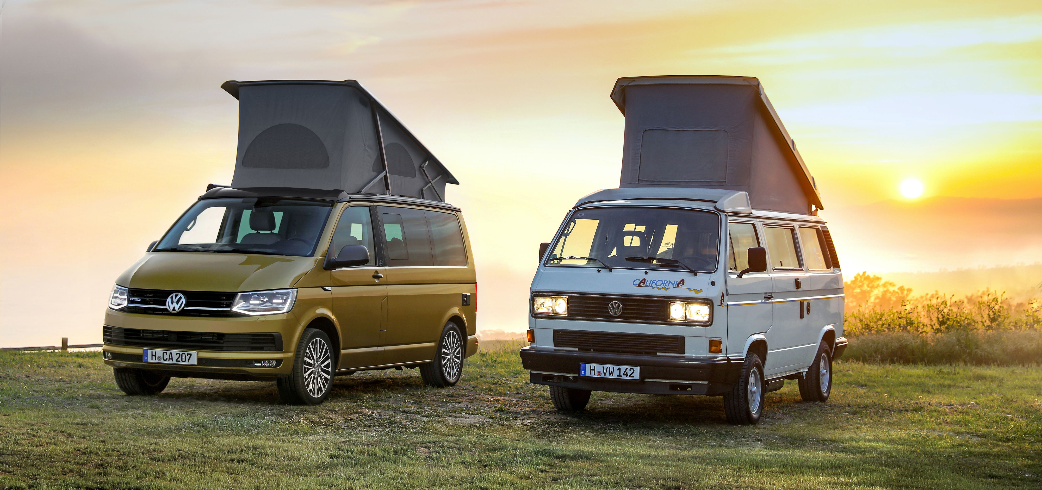 """Volkswagen Commercial Vehicles celebrates the 30th anniversary of its camping icon with the special """"California 30 Years"""" model, an anniversary vehicle limited to a production run of 999 units."""