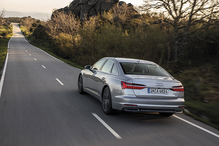 audi a6 rear tracking