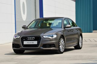 audi a6 saloon front static