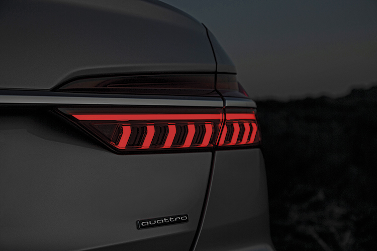 audi a6 tail-light