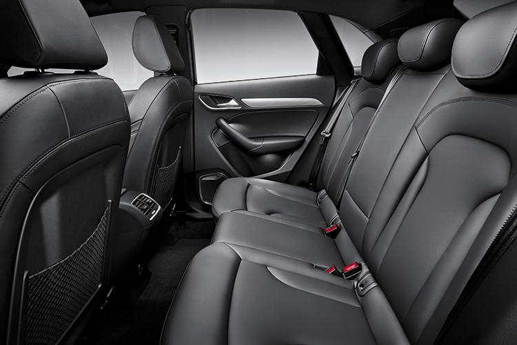 audi q3 backseat