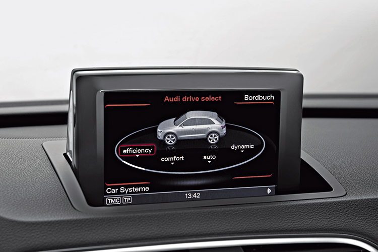 audi q3 drive select