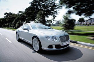 bentley continental gt front tracking