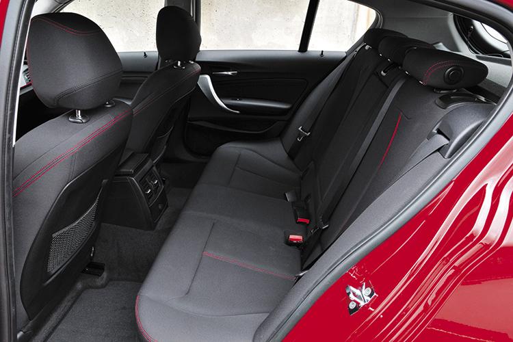 bmw 1 series backseat