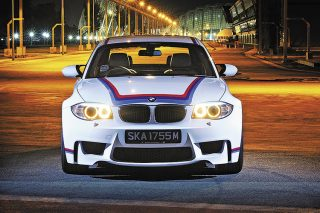 BMW 1 Series M Coupe direct front