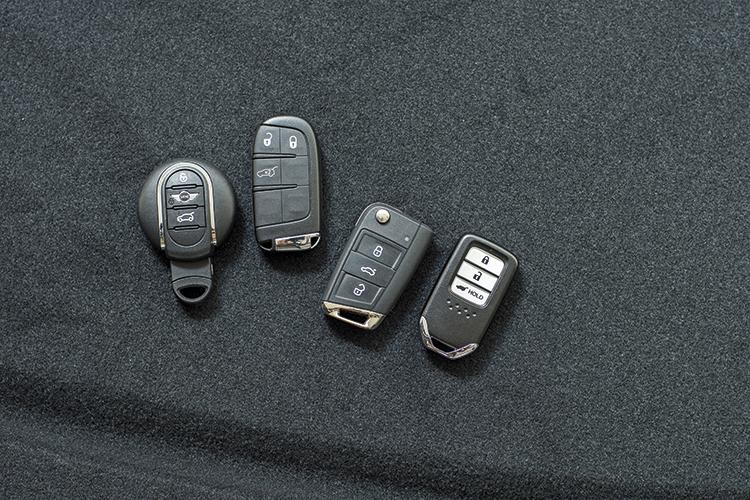 MINI Cooper Countryman, Jeep Compass, Volkswagen Tiguan and Honda CR-V – Keys