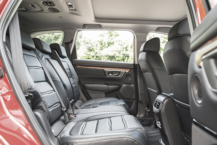 Honda CR-V – Backseat