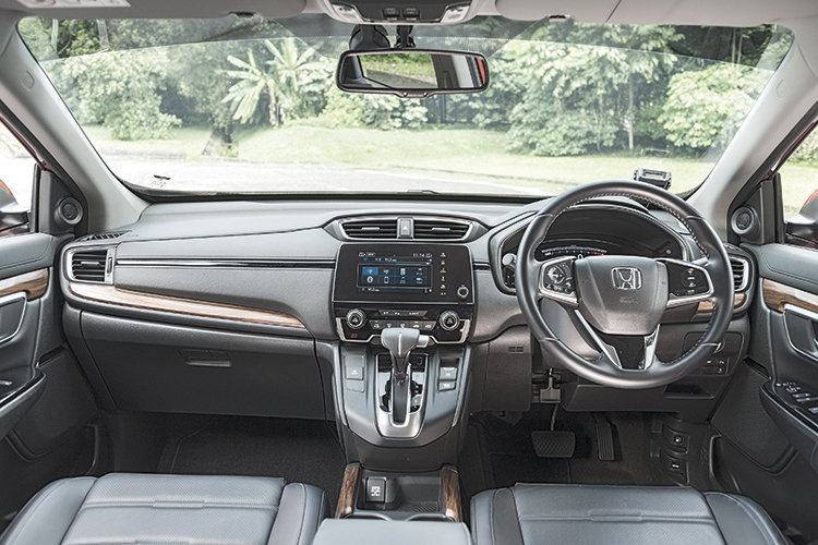 Honda CR-V – Cockpit
