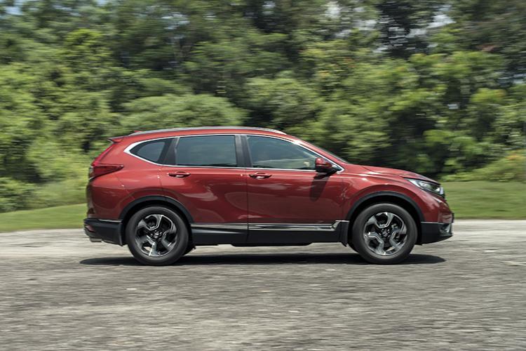 Honda CR-V – Ride & Handling