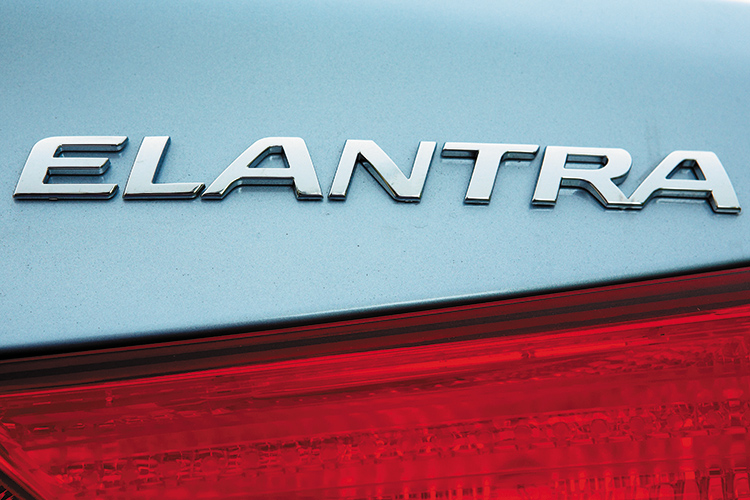 hyundai elantra badge