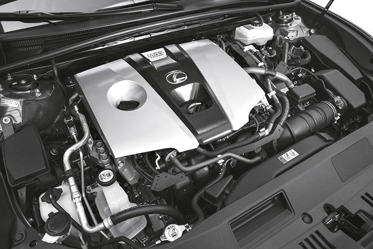 lexus es300h engine