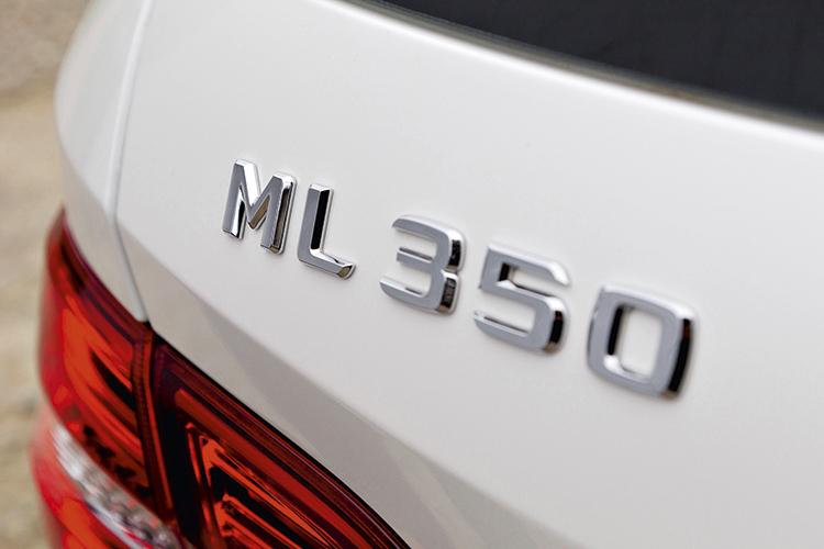 mercedes-benz ml350 badge
