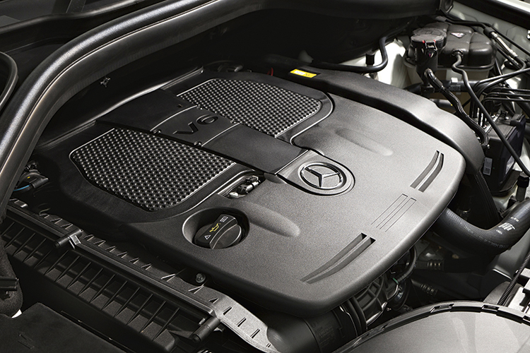 mercedes-benz ml350 engine