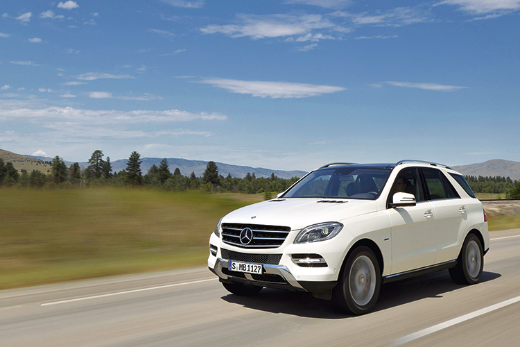 mercedes-benz ml350 front tracking