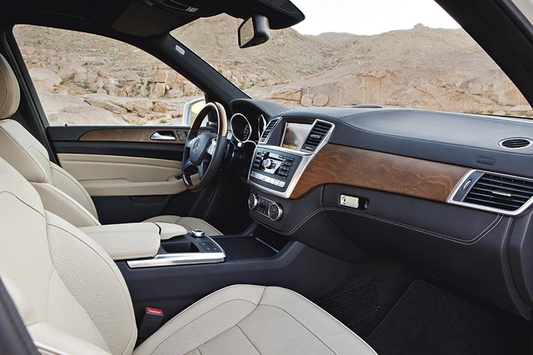 mercedes-benz ml350 interior